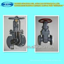Válvula de puerta de vapor de alta presión estándar rusa pn16 DN200