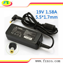 Replacement 19V 1.58A Asus Laptop AC Adapter