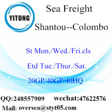 Shantou Port Sea Freight Shipping To Colombo