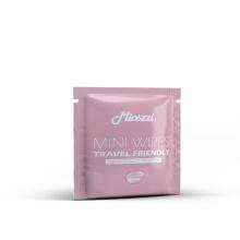 Toallitas húmedas perfumadas empaquetadas individualmente para restaurante