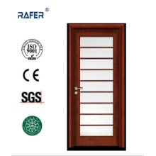 Interior Single Leaf Glass Wooden Door (RA-N048)