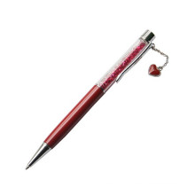 Crystal String Heart Metal Ball Gift Pen