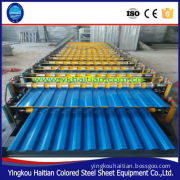 Double Layer Colored Steel Sheet Roof /Wall Panel Roll forming Machine