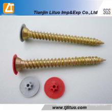 China fabricante de tornillos de hormigón galvanizado