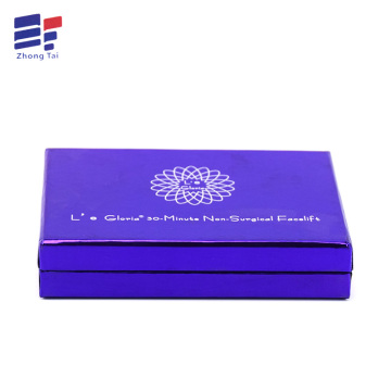 Custom special paper offset printing craft box