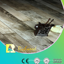 Commercial 8.3mm E1 AC3 Embossed Walnut V-Grooved Waterproof Laminate Floor
