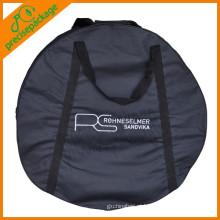 Impressão de logotipo poliéster reutilizável forte saco de pneu sobressalente