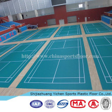 removable indoor outdoor badminton court