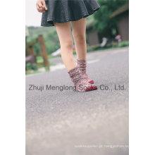 Japonês Reaationary estilo Thick Thread doce menina inverno meias venda quente para os anos