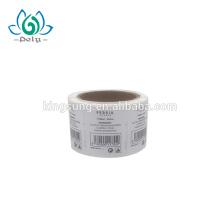 etiqueta engomada de la etiqueta del código qr de papel a prueba de agua
