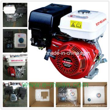 Motor a gasolina de cilindro único com resfriamento de ar 4 Stoke 5.5HP