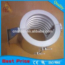 Calentador de barril de extrusión de aluminio