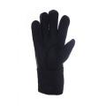 Genuine sheepskin ladies winter gloves