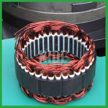 Automatic automobile motor alternator stator winding machine