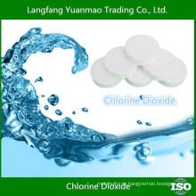 Chemische Rohstoffe / Chlordioxid Tablette für Wasser gereinigt / Made in China