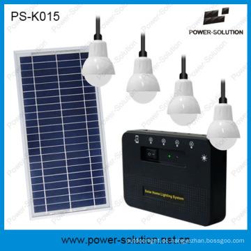 Wiederaufladbare Solar Home Lighting mit Telefon Laden (PS-K015)