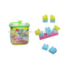 48 pcs bloco colorido, brinquedos educativos dos brinquedos dos blocos de apartamentos educacionais, brinquedos de blocos de construção plásticos para crianças-909023953