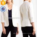 Iovry Stretch Wool Blend Blazer OEM / ODM Fabricación al por mayor de moda mujeres ropa (TA7005J)