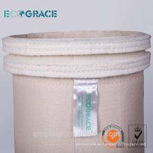Filtro de poliéster filtro de agua y aceite repelente bolsa de filtro de polvo bolsa