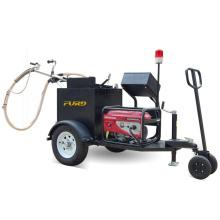 Máquina quente FGF-100 do enchimento da rachadura da selagem da rachadura da estrada asfaltada da chaleira do derretimento
