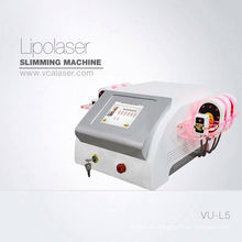 Láser de lipólisis de reducción de grasa del diodo 635nm-650nm