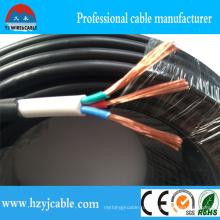 300 / 500В Гибкий медный двойной изолированный электрический провод (H05VV-F)