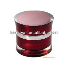 5ml 15ml 30ml 50ml Creme acrílico de luxo Cosméticos Embalagem Frascos