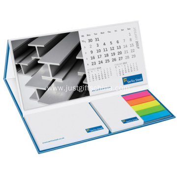 Bespoke Desk Calendar With Sticky Notes