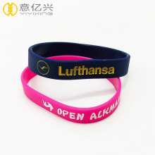 Cheap popular sports style custom silicone bracelets