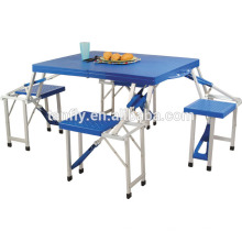 cheap blue plastic folding table outdoor banquet camping table