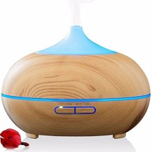 400ml Wood Grain Aromatherapy Diffuser Ultrasonic cool mist
