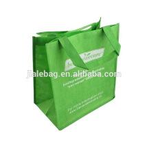 2018 custom woven supermarket shopper bag