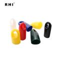 tampas de plástico para parafusos, tampas de proteção de plástico branco, tampas de proteção e plugues