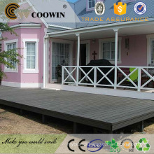 Wood plastic composite timber replace