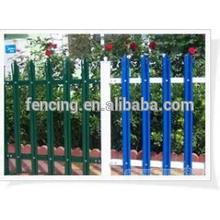 W Section Pales Steel ornamental fencing