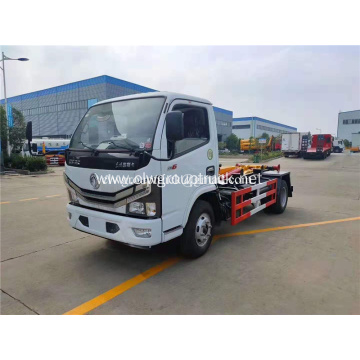 Euro 6 Dongfeng garbage can transport truck