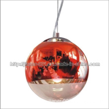 Red Signal Modern Glass Pendant Lamp in CE (S5016-1R)