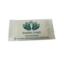 Lingette humide pour tapis de yoga au parfum de citron Health