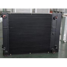 Hydraulic Transmission Compact Plate Fin Heat Exchanger For