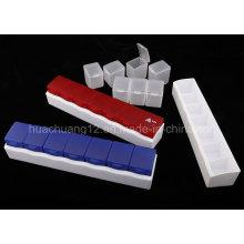 2015 nova caixa de comprimidos de plástico para medicamentos Plb21