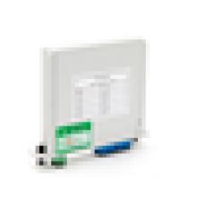 Tipo de inserto de telecomunicação lgx box fibra óptica divisor 1x8 plc, lgx 1x8 módulo divisor
