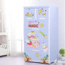 Cartoon Design PP Drawer Children Cabinet (206043)