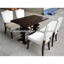wooden restaurant tables and chairs prices XDW1252-1