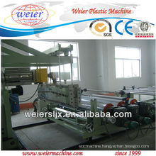 PP,PE,ABS,TPU plastic sheet extruder
