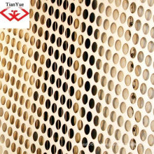 Malla de metal perforado para decoración interior (fábrica)