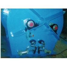 Mezclador de paletas de doble gravedad WZ con eje cero, mezclador de agitador SS, amoladora de alimentación eléctrica horizontal