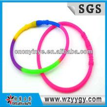 Sport Elastic Multicolor Silicone Wrist Band