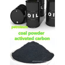Petroleum resin purifying with powder coal activated carbon