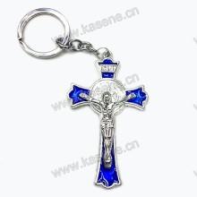 Современный дизайн Распятие эмалей Розария, крест Брелок