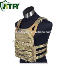 Chaleco antibalas táctico multifunción extra placa bolsillo armadura oculta chaleco antibalas
